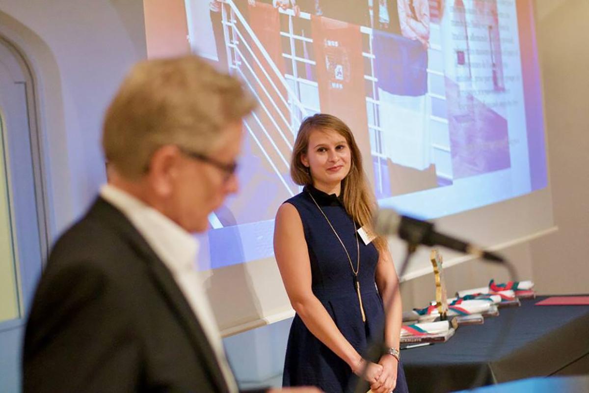 Isabelle Steinweg lauréate du prix Bartholdi 2017
