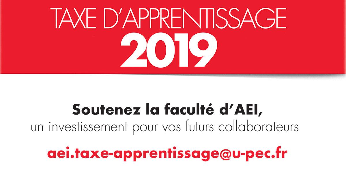 Taxe d'apprentissage 2019 AEI